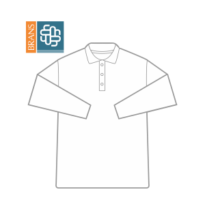 C939 Playera Tipo Polo Pique Manga Larga Caballero